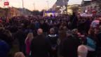 Video «FPÖ demonstrierte gegen Flüchtlings-Quartiere» abspielen