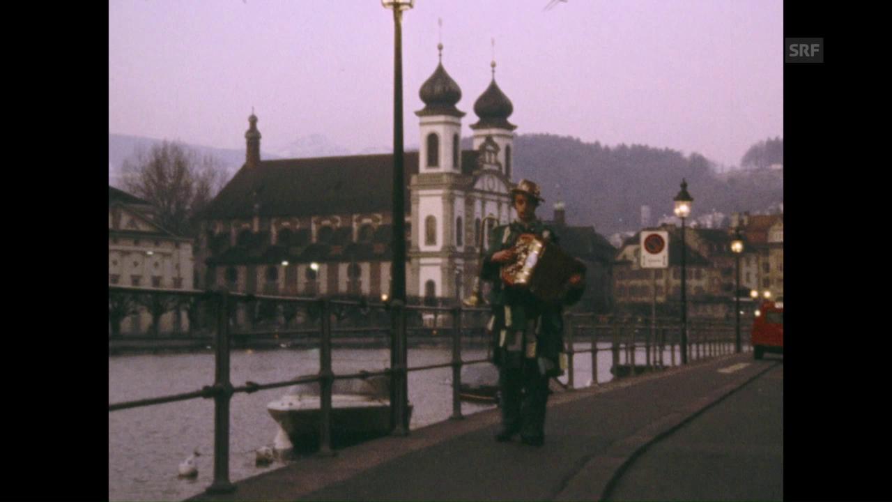 Ende der Luzerner Fasnacht (1976)