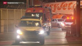 Video «Ebola-Patient in Genf angekommen» abspielen