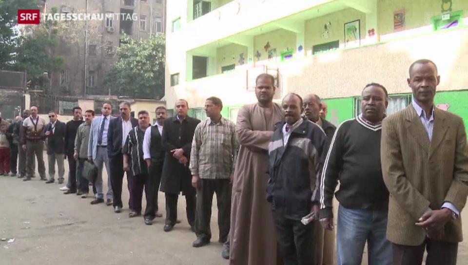 Die Verfassung in Ägypten