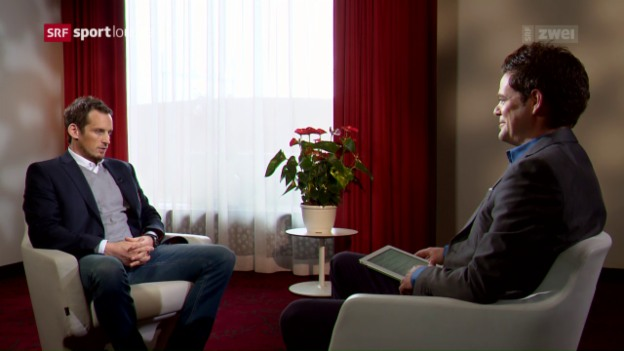Video «Patrick Fischer – der Eishockey-Nationaltrainer im Gespräch» abspielen