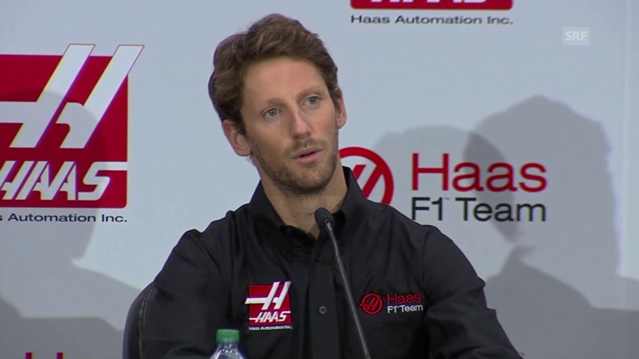 Formel 1: Grosjean neuer Haas-Fahrer