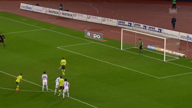 Video «FC Zürich - GC («sportaktuell»)» abspielen