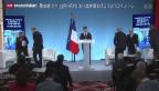Video «Frankreich schafft neue Stellen im Anti-Terror-Kampf» abspielen