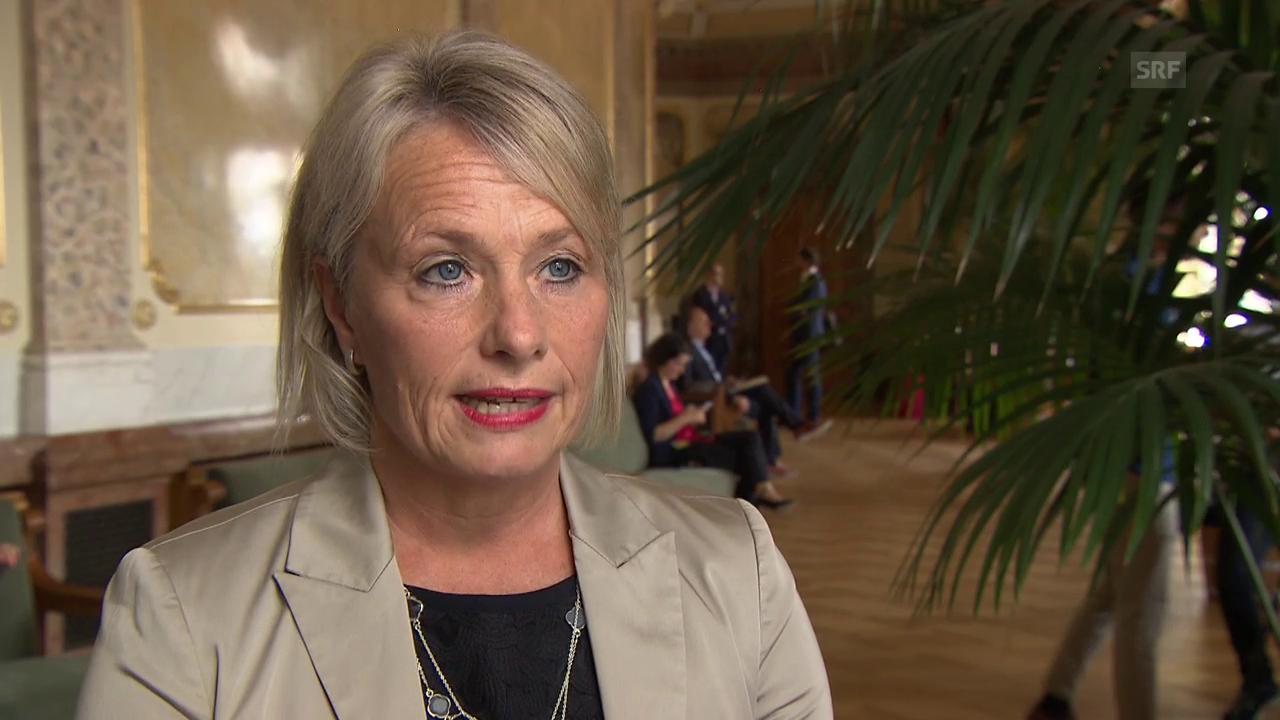 Elisabeth Schneider-Schneiter (CVP): Die Bilateralen haben oberste Priorität