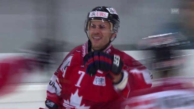 Video «Eishockey: Spengler Cup 2014, Tor Tambellini» abspielen