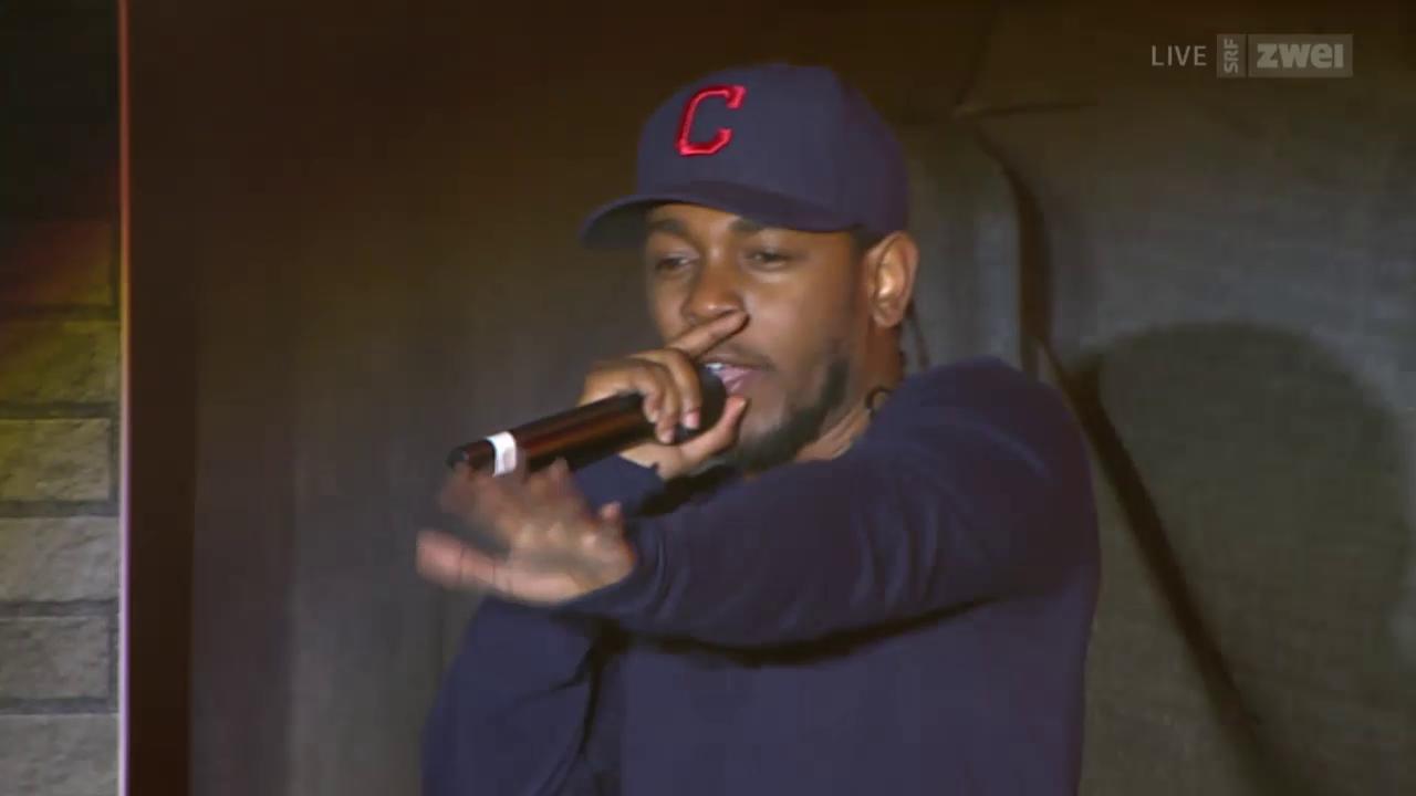 Kendrick Lamar live - Openair Frauenfeld 2015