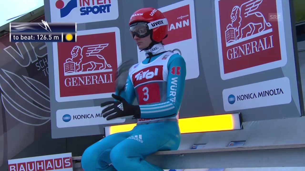 Skispringen: Siegessprung Richard Freitag