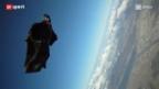 Video «Mit dem Wingsuit über die Alpen» abspielen