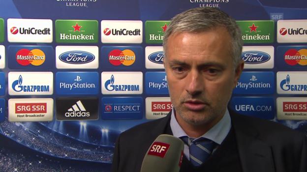 Video «Interview José Mourinho (englisch)» abspielen