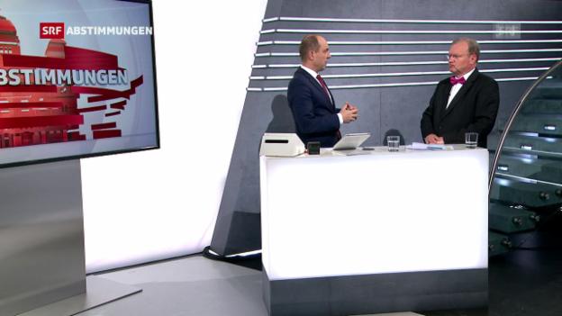 Video «Stimmbeteiligung «kein Heuler, aber nicht schlecht»» abspielen