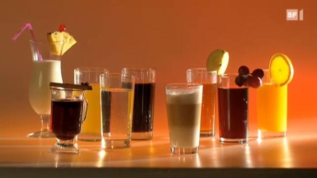 Video «Getränke - die vergessene Kalorienquelle» abspielen
