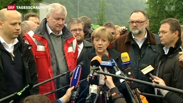 Hochwassersituation in Deutschland bleibt prekär