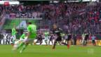 Video «Fussball: Bundesliga, Wolfsburg - Stuttgart» abspielen