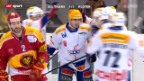 Video «Playout-Halbfinal: SCL Tigers - Kloten» abspielen