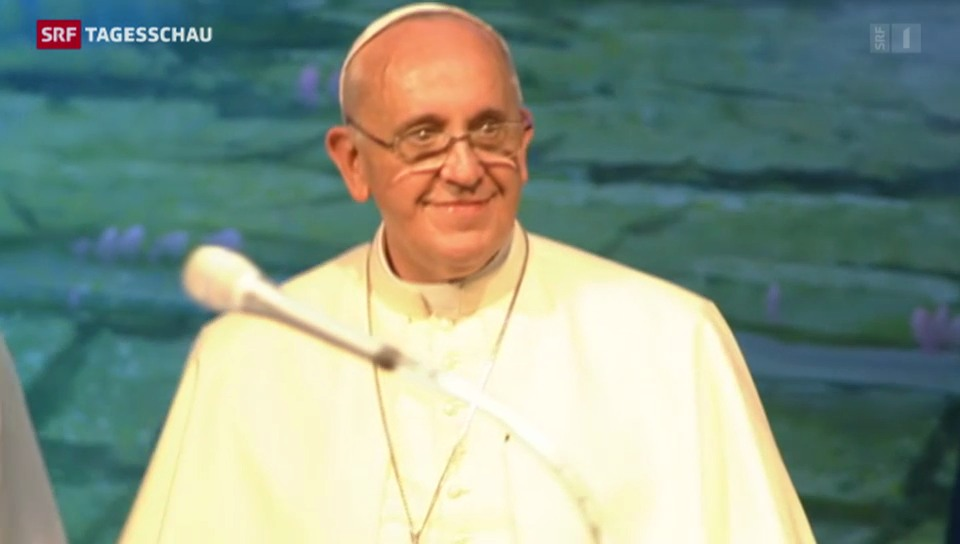 Der Papst lässt sich feiern