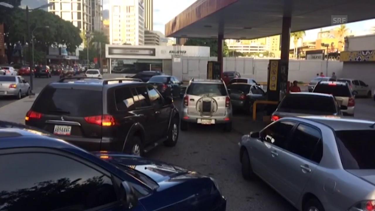 Venezuela erhöht nun Preise - Eine Million Liter Benzin für einen Franken