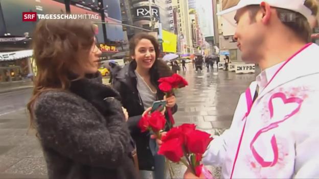 Video «Die Welt begeht den Tag der Frau» abspielen