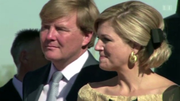 Video «Königliche Vorfreude in Amsterdam» abspielen