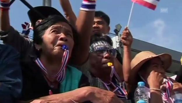 Video «Die Thailänder kämpfen für mehr Demokratie» abspielen