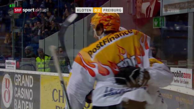 Video «Freiburg mit Befreiungsschlag in Kloten» abspielen