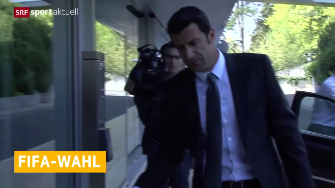 Fussball: Auch Luis Figo kandidiert nicht
