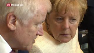 Video «Merkel unter Druck» abspielen