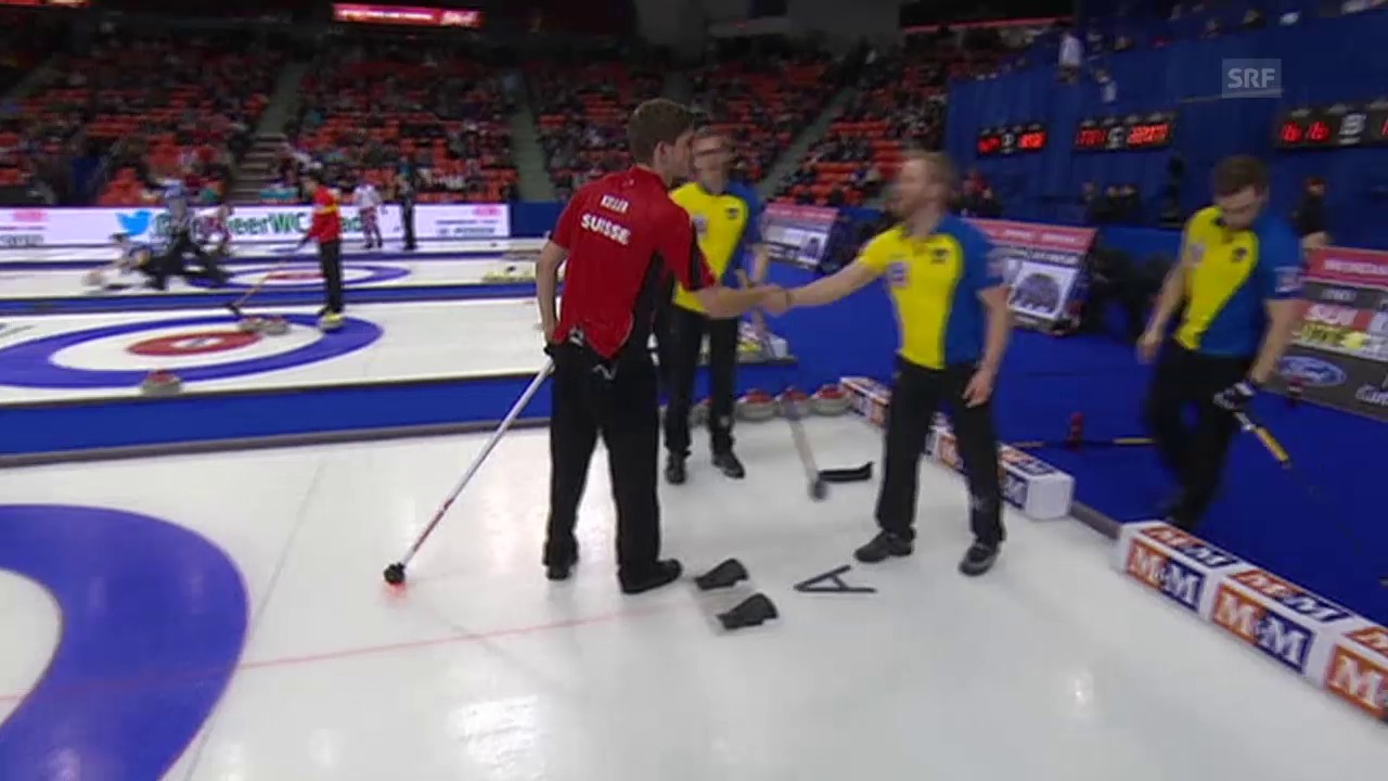 Curling: WM 2015, SUI-SWE