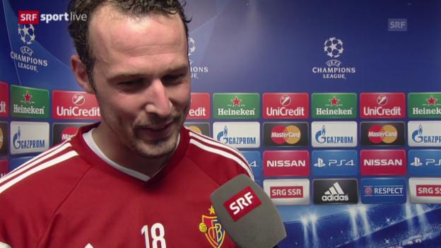 Video «Fussball: Marco Streller im Interview» abspielen