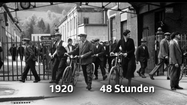 Video «Meilensteine der Schweizer Arbeitnehmerrechte» abspielen