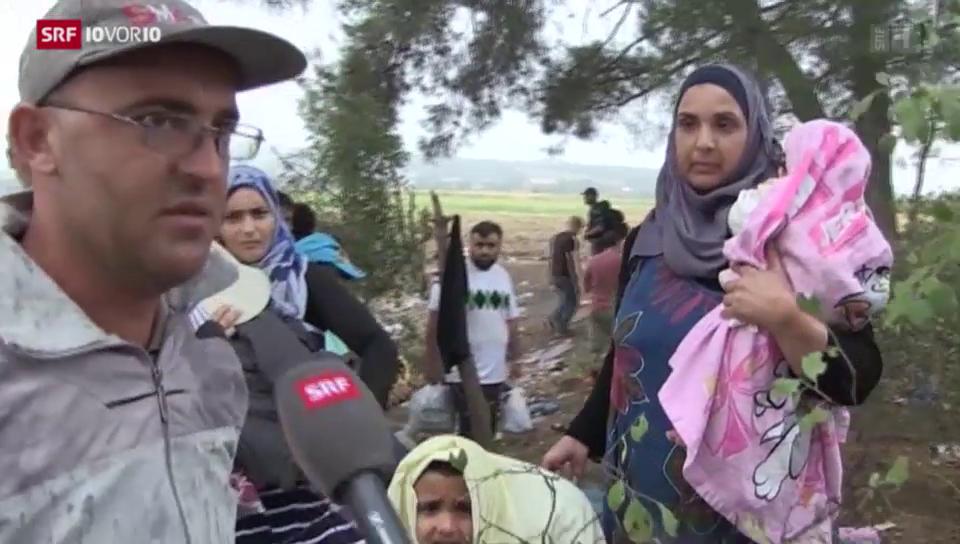Reportage aus der Krisenzone
