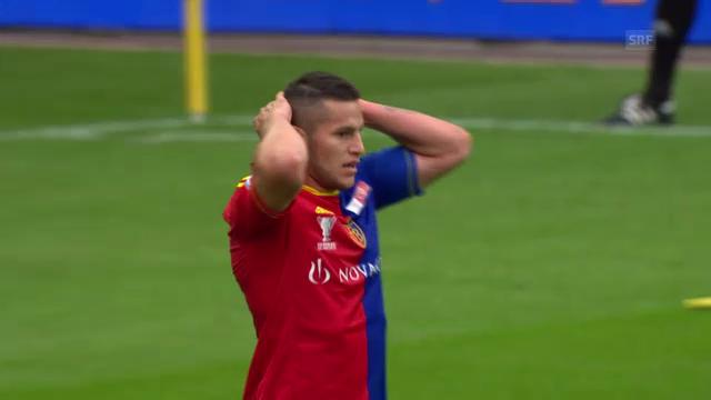 Raul Bobadillas Zeit beim FC Basel