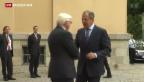 Video «Ukraine-Krisengespräche in Berlin» abspielen