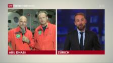 Video «Piccard: «15 Jahre Zweifel und Freude»» abspielen
