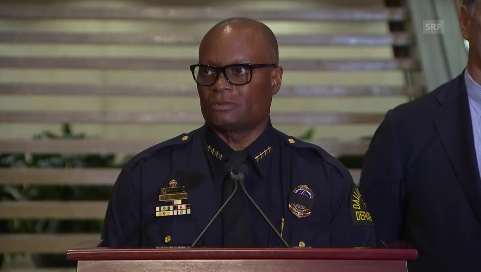 Polizeichef David Brown