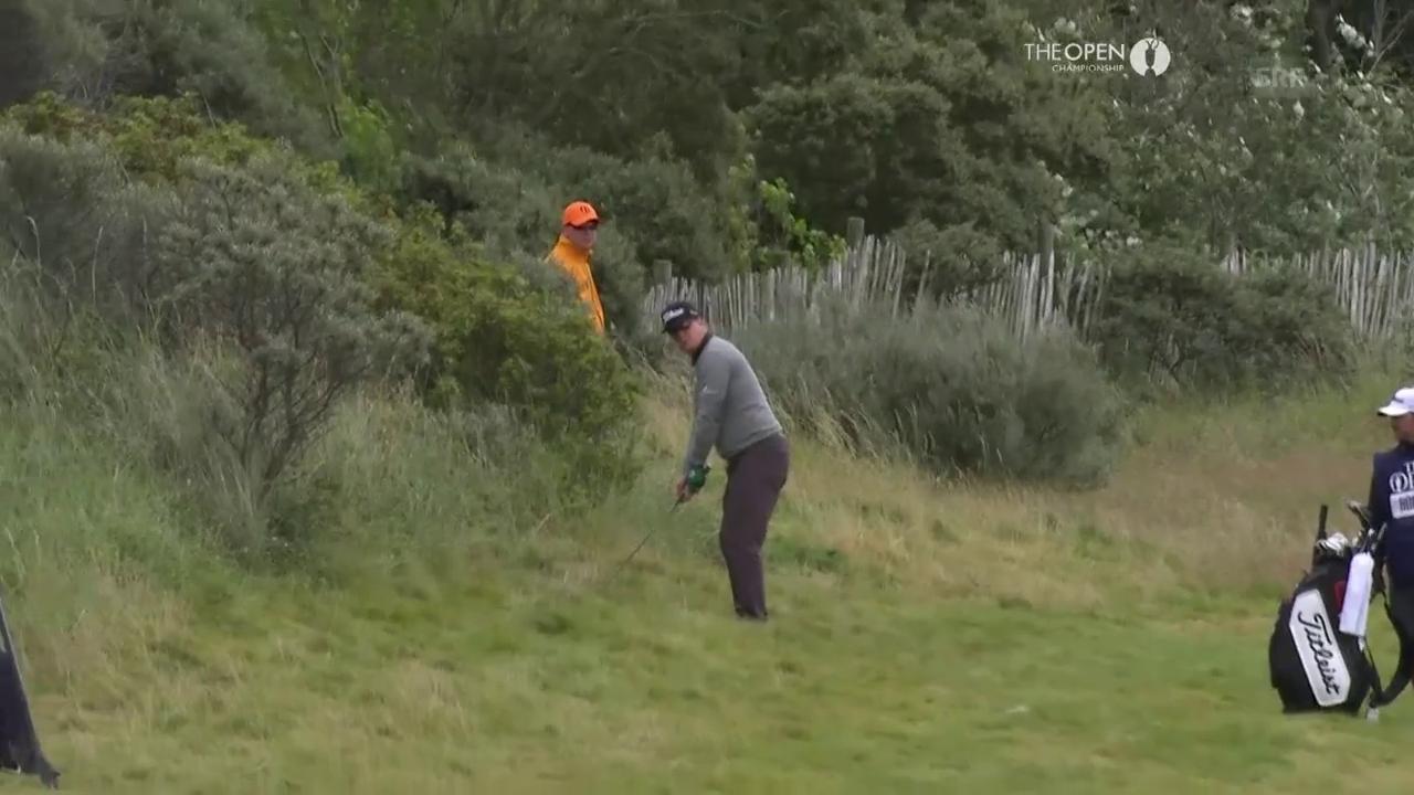 Charley Hoffman trifft mit Traumschlag aus dem hohen Gras