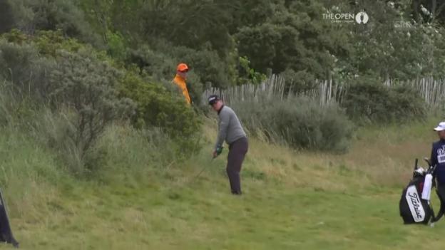 Video «Charley Hoffman trifft mit Traumschlag aus dem hohen Gras» abspielen