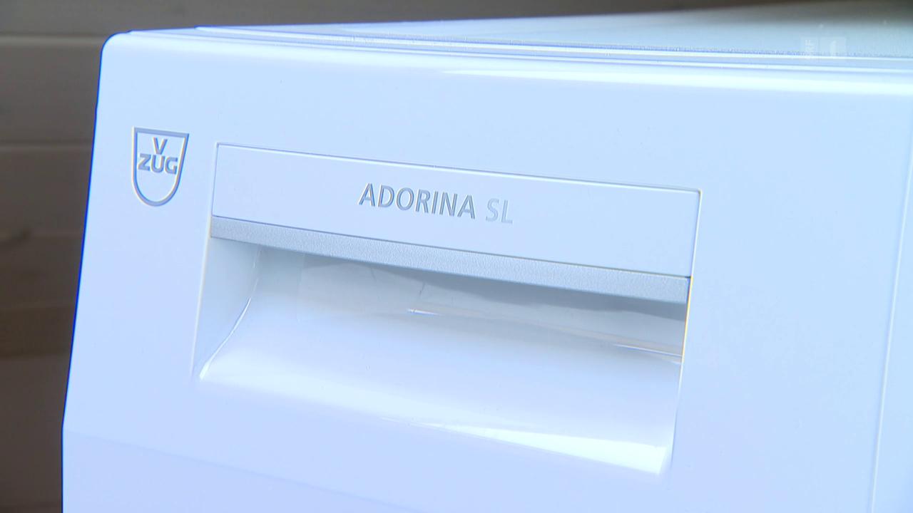 V-Zug seift Kunden ein: Etikettenschwindel bei Waschmaschine