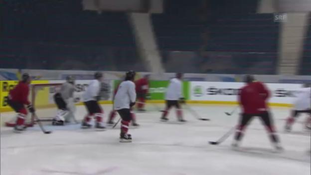 Video «Ruhetag für die Schweizer Nati» abspielen