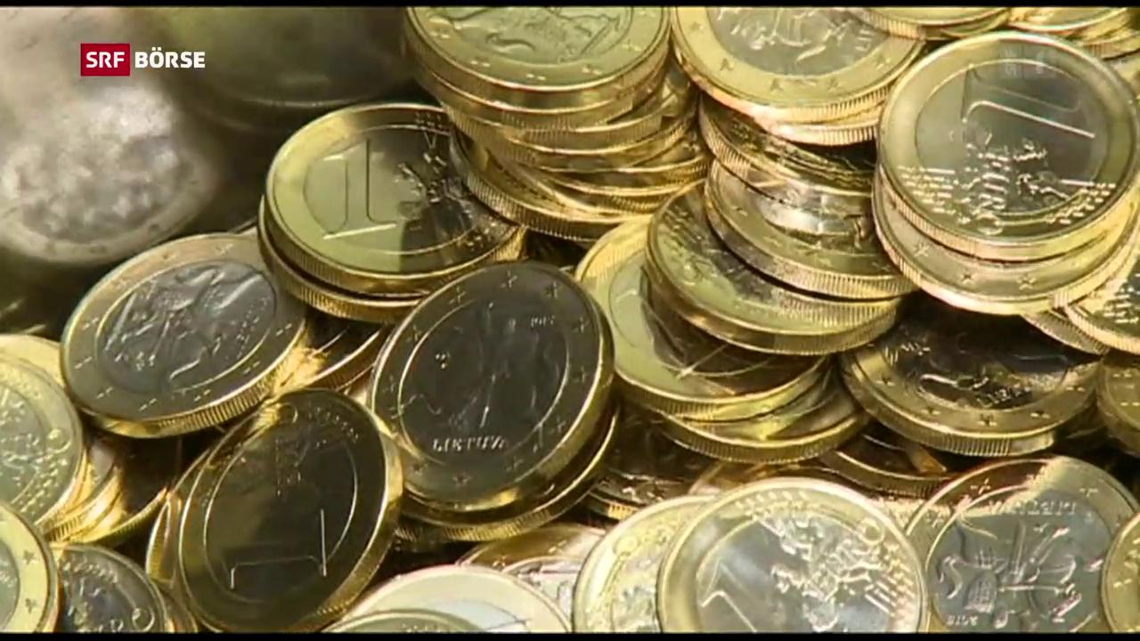 Der Euro schwächelt wieder