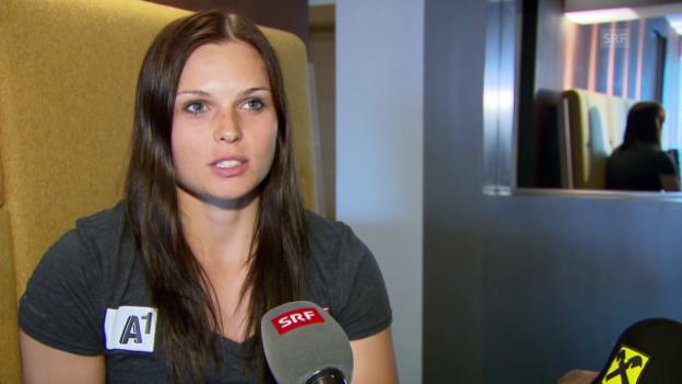 Video «Porträt von Anna Fenninger» abspielen