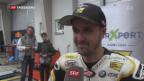 Video «Lüthi stürzte auf dem Sachsenring» abspielen