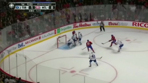 Video «Highlights Montreal - Toronto» abspielen