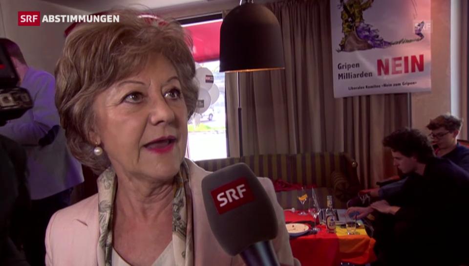Susanne Leutenegger Oberholzer: Gripen-Geld muss raus aus dem VBS-Budget