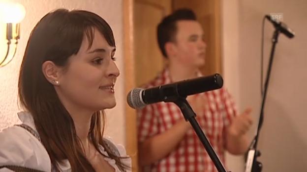 Video «Sandra Ledermann: «Lasst uns heute feiern»» abspielen