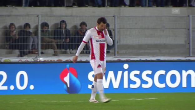 Video «Fussball: Super League, Sion - GC: Ein desillusionierter Veroljub Salatic» abspielen