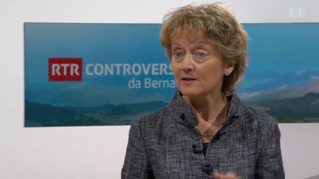 Laschar ir video «Eveline Widmer-Schlumpf dat pled e fatg»