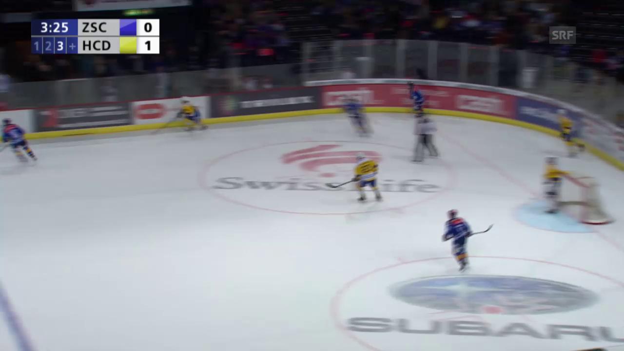 Eishockey, Playoff-Final, 2:0 durch Axelsson