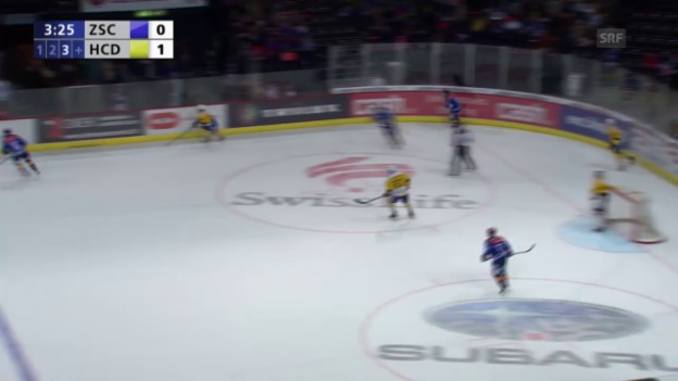Video «Eishockey, Playoff-Final, 2:0 durch Axelsson» abspielen