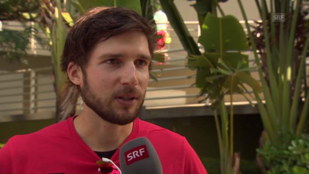 Video «Ruderer Schmid: «Zu grosse Hypothek aufgeladen»» abspielen